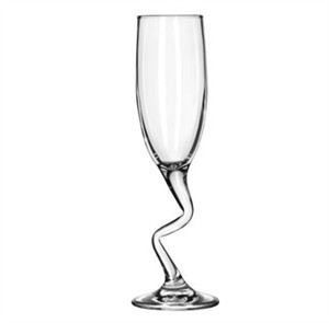 Libbey Z-Stem 6 Oz. Flute Glass With Safedge Rim/Foot
