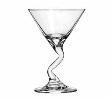 Libbey Glass 37719 Z-Stems 5 oz. Martini Glass