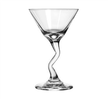 Libbey Glass 37339 Z-Stems 7-1/2 oz. Martini Glass