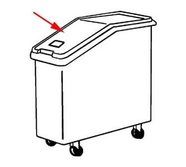 Franklin Machine Products  262-1032 Lid, Ingredient Bin (M#3603)
