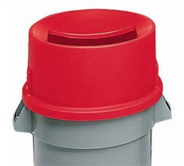 Franklin Machine Products  150-6027 Lid, Trash (Magnetic, 20 Gal, Rnd )