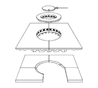 Franklin Machine Products  228-1024 Lid