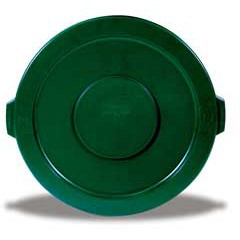 Lid For 32 Gal Brute Container Dark Green