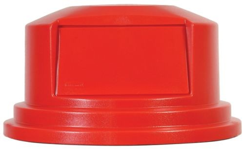 Lid for Brute� Dome Top for 55 gallon Brute container-Red