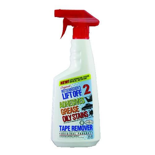 Lift-Off #2 Tape, Label & Adhesive Remover, 22 oz. Spray Bottles, 6/Carton