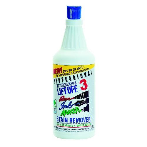 Lift-Off #3 Pen, Ink & Marker Graffiti Remover, 32 oz. 6/Carton