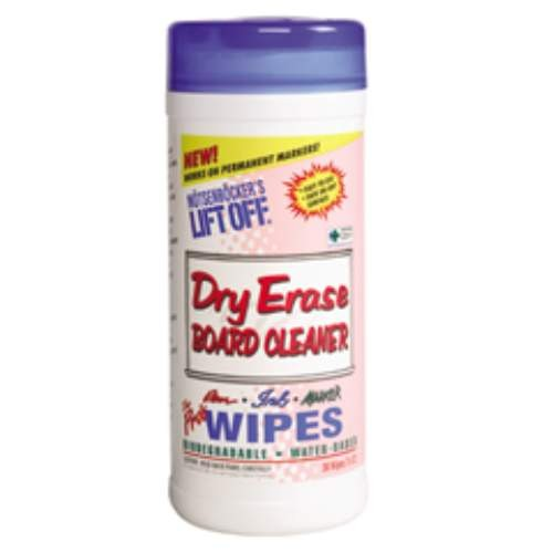 Lift Off Dry Erase Board Cleaning Wipe, 7 X 12