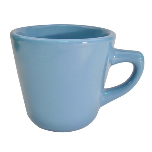 CAC China LV-1-Lb. Las Vegas Light Blue Tall Cup 7.5 oz.