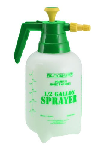Light-Duty Hand Sprayer/Mister, .5 Gallon, Polyethylene