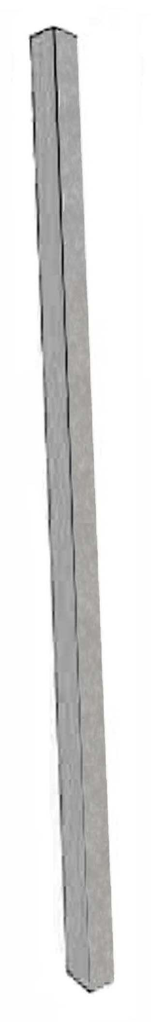 Light Grey Plastic Lumber Single Post