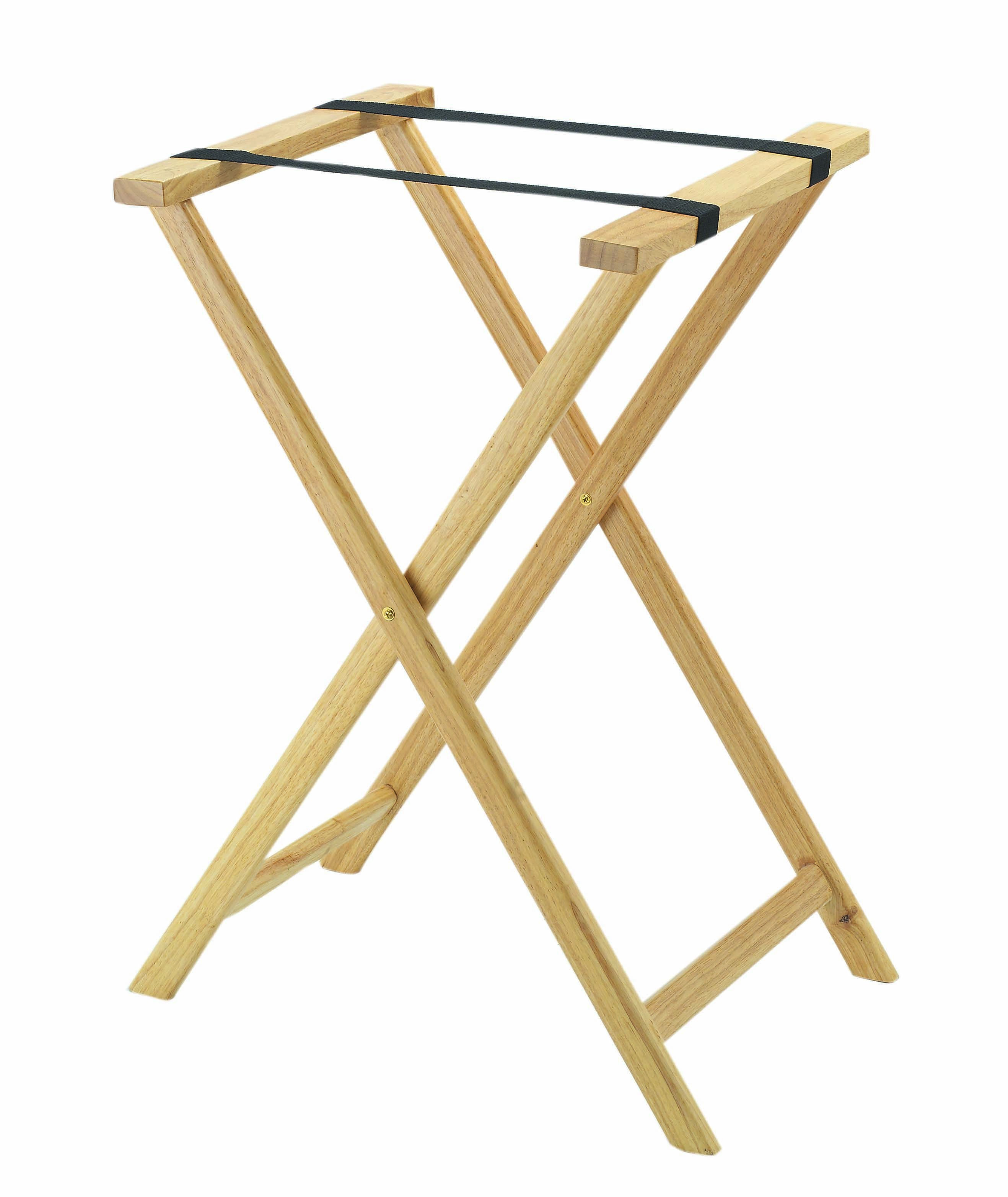 Light Wood Tray Stands