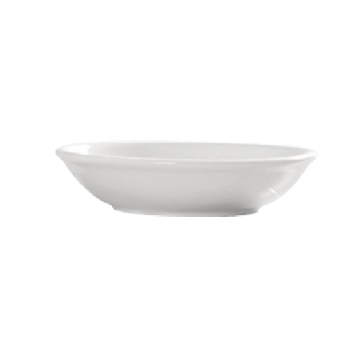 CAC China 101-44 Lincoln 3 oz. Sauce Dish