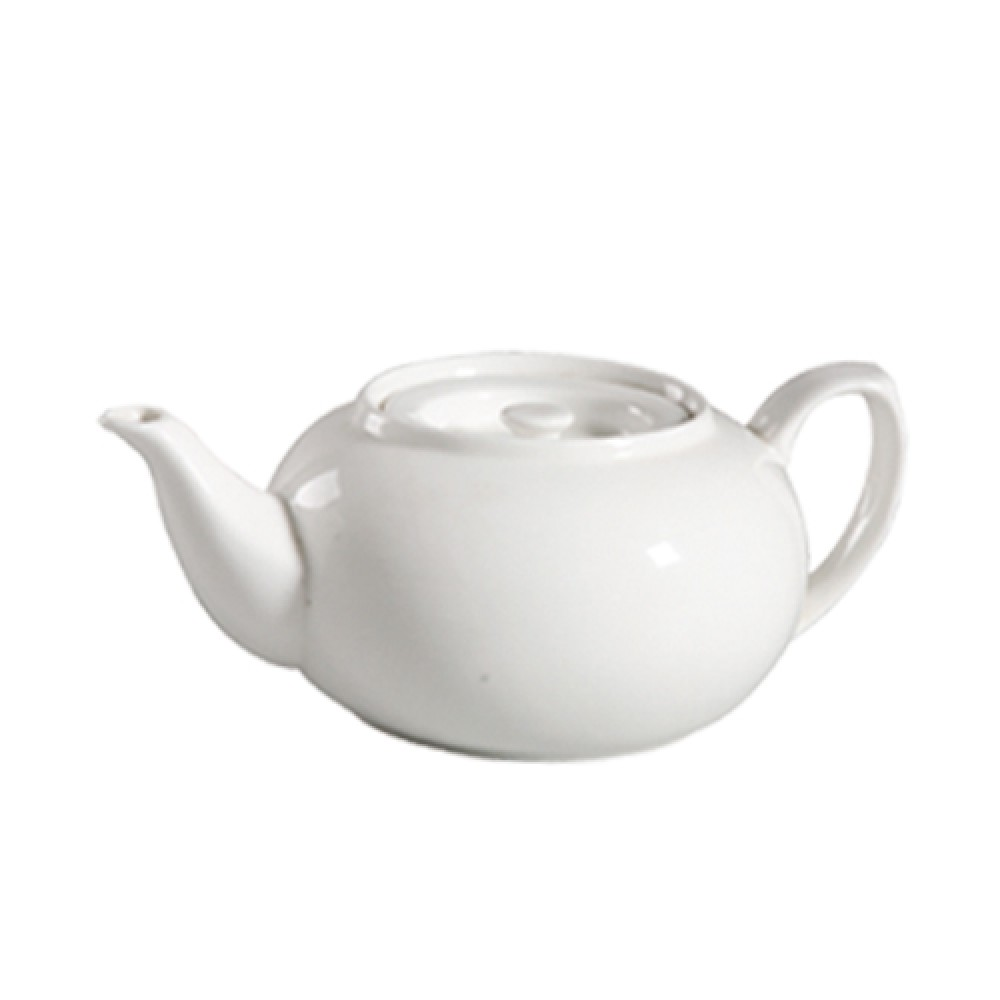 CAC China 101-TPW-2 Lincoln 32 oz. Tea Pot