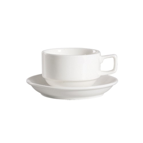 CAC China 101-1-S Lincoln 8 oz. Stacking Cup