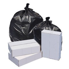 Linear Low Density Trash Bags 33 x 39, Black