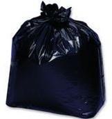 Linear Low Density Garbage Bags, 33 x 39, Black