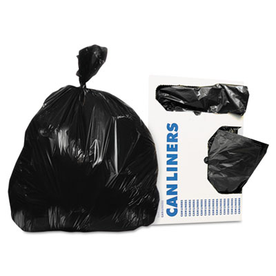 Linear Low-Density Can Liners, 30 gal, 0.9 mil, 30