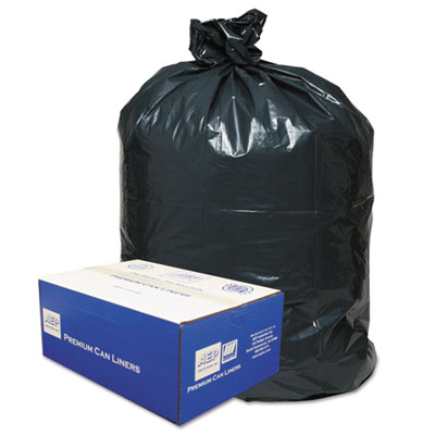Linear Low-Density Can Liners, 56 gal, 0.9 mil, 43
