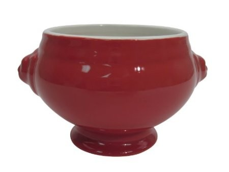 CAC China LN-15 RED Lion Head China Bouillon 15 oz.
