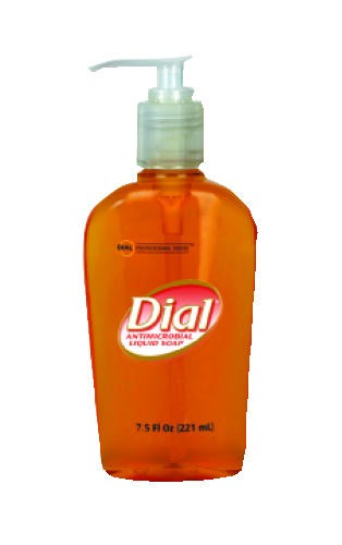 Liquid Dial Gold Antimicrobial Soap, Pump Bottle, 7.5 Oz
