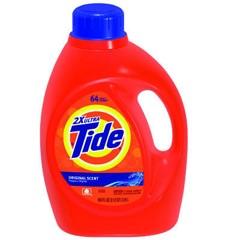 Tide Ultra Laundry Detergent, Original Fresh Scent, 100 oz. Bottle