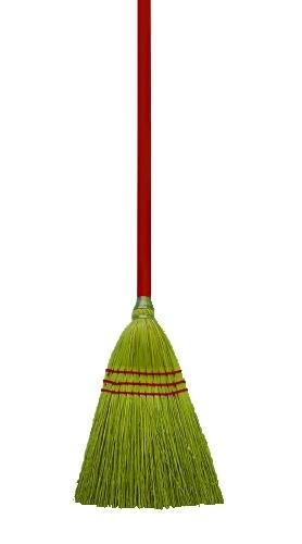 Lobby/Toy Broom, Corn Fiber Bristles, 39