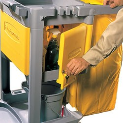 Locking Cabinet, For Use With RCP Cleaning Carts