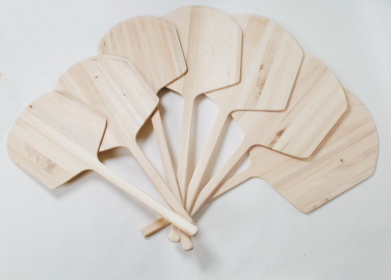 Long Handle Wooden Pizza Peel With 16