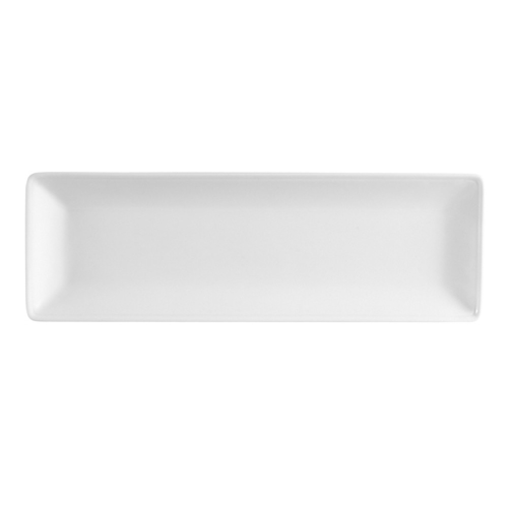 "CAC China LON-12 Long Island Porcelain Platter, 10 1/2"" x 3 5/8"""
