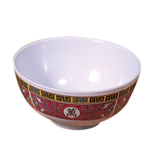 Longevity Melamine 12 Oz. Rice Bowl - 4-7/8