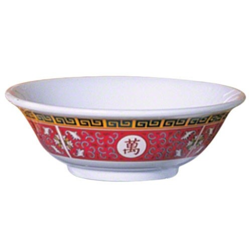 Longevity Melamine 22 Oz. Rimless Bowl - 6-7/8
