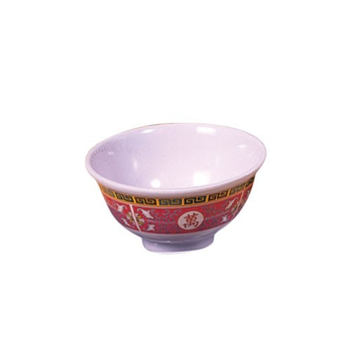 "Thunder Group 3006TR Longevity Melamine Rice Bowl 8 oz., 4-3/8"" Dia."