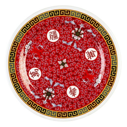 Longevity Melamine Round Plate - 12-5/8