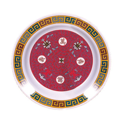 Thunder Group 1106TR Longevity Melamine Soup Plate 3 oz.