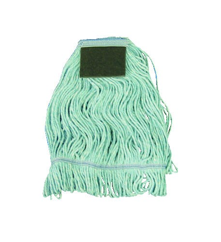 Looped Mop Head with Scrub Pad, Medium, Cotton/Synthetic