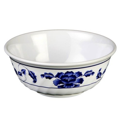 Lotus Melamine 20 Oz. Fluted Bowl - 6