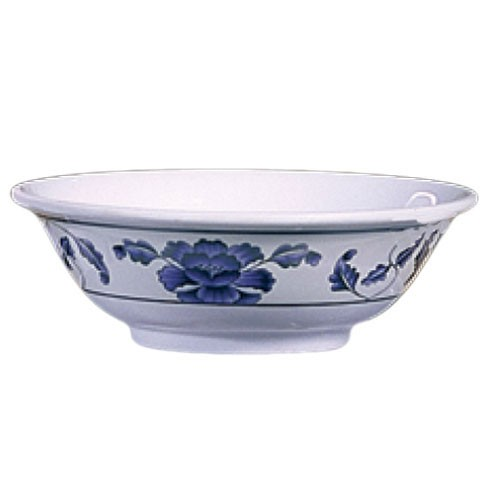 Lotus Melamine 22 Oz. Rimless Bowl - 6-7/8