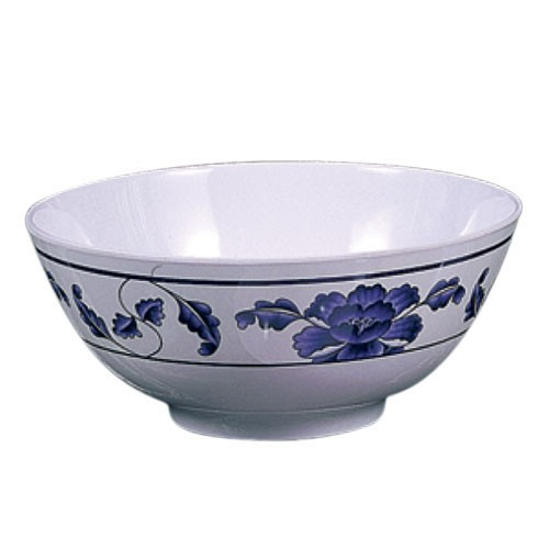 Thunder Group 5206TB Lotus Melamine Rice Bowl 25 oz., 5-7/8""