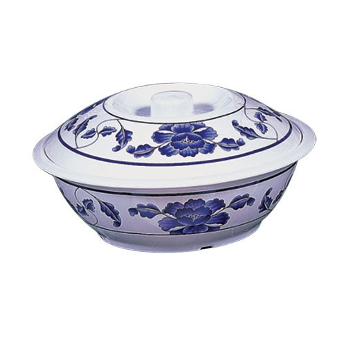 Lotus Melamine 63 Oz. Bowl With Lid - 10