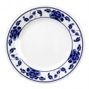 Thunder Group 1004TB Lotus Melamine Round Plate 4-1/2""