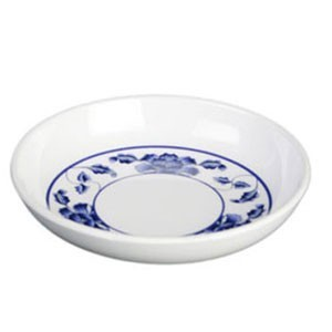 Thunder Group 102.8TB Lotus Melamine Sauce Dish 2 oz.