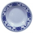 Thunder Group 1108TB Lotus Melamine Soup Plate 7 oz.