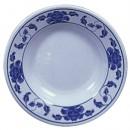 Lotus Melamine Soup Plate - 7-7/8