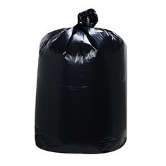 Low-Density Can Liners, 1mil, 10gal, 24w x 23h, Black