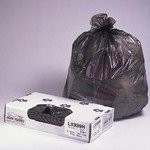 Low-Density Can Liners, 38w x 60h, Black