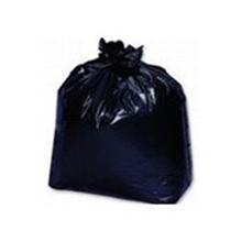 Low-Density GarbageCan Liners, 40w x 48h, Black