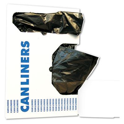 Low-Density Waste Can Liners, 10 gal, 0.35 mil, 24