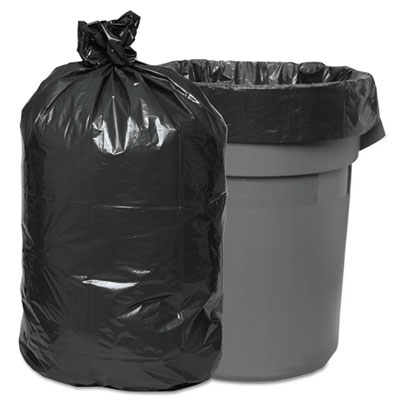 Low-Density Waste Can Liners, 60 gal, 0.95 mil, 38