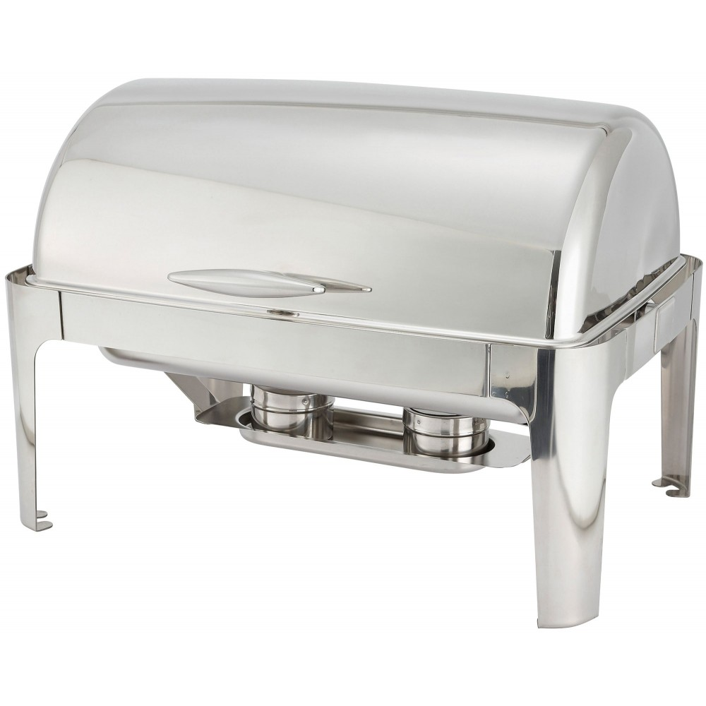 Winco 601 Madison Full Size Oblong Chafer 8 Qt.