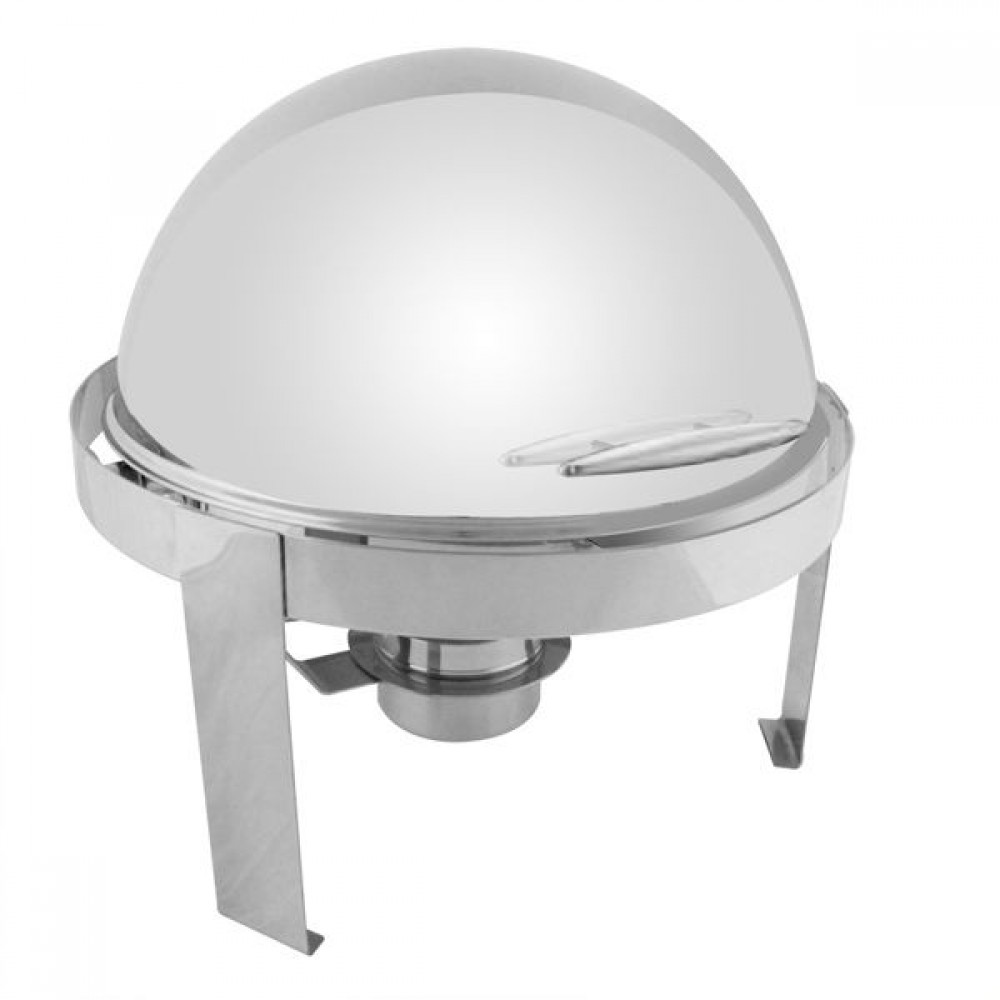 Thunder Group SLRCF0860 Madison Roll Top Round 6 Qt. Chafer